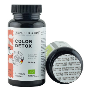 Colon Detox Ecologic 90 cps Republica Bio1