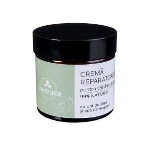Crema reparatoare pentru calcaie 60 ml Trio Verde