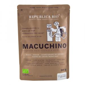 Macuchino, pulbere functionala ecologica Republica BIO - 200 g0
