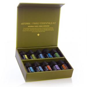 Set uleiuri esentiale (10x5 ml) doTERRA Family Essentials - Kit perfect pentru un cadou!