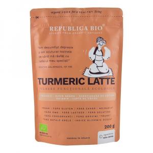 Turmeric Latte, pulbere functionala ecologica Republica BIO - 200 g0
