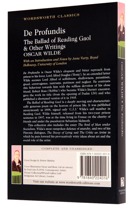 De Profundis - The Ballad of Reading Gaol & Other Writings [1]