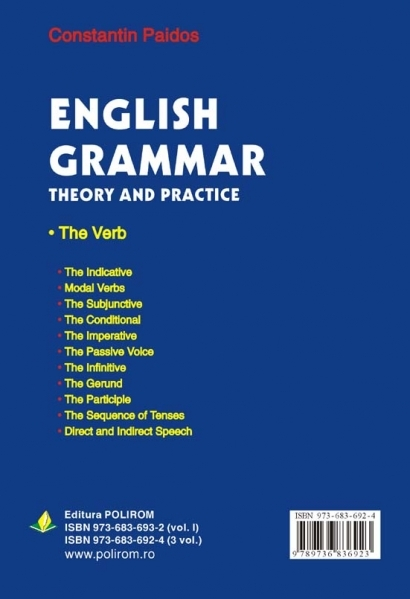English Grammar. Theory and Practice (ed. a III-a, 3 vol.) [1]