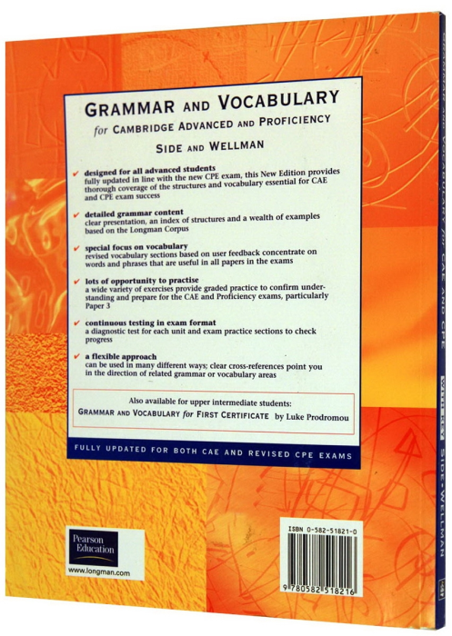 Grammar and Vocabulary for CAE (Advanced) & CPE (Proficiency) With Key New Edition [1]