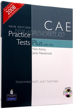 CAE Practice Tests Plus ) with Key and iTest CD-ROM and Audio CDs [0]