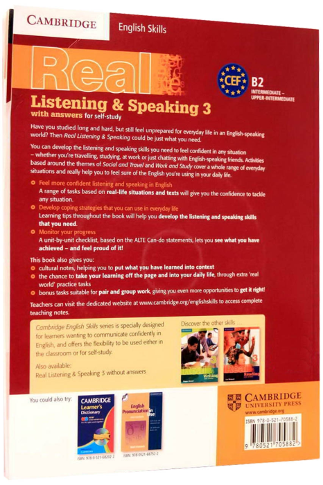 Real Listening & Speaking 3 with Answers and Audio CDs (2) [1]