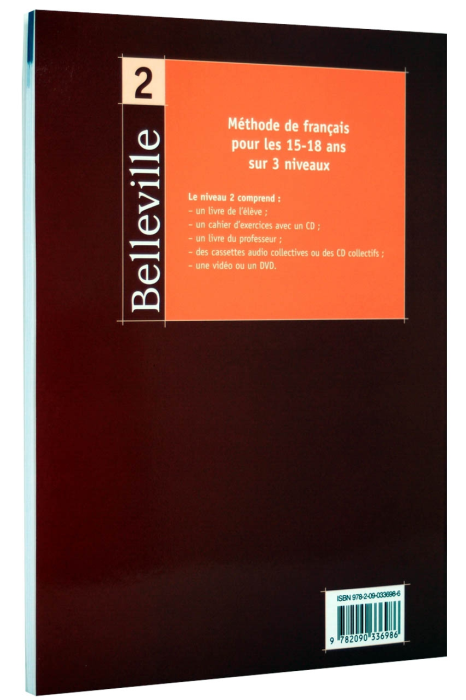 Belleville 2. Cahier D'exercices [1]