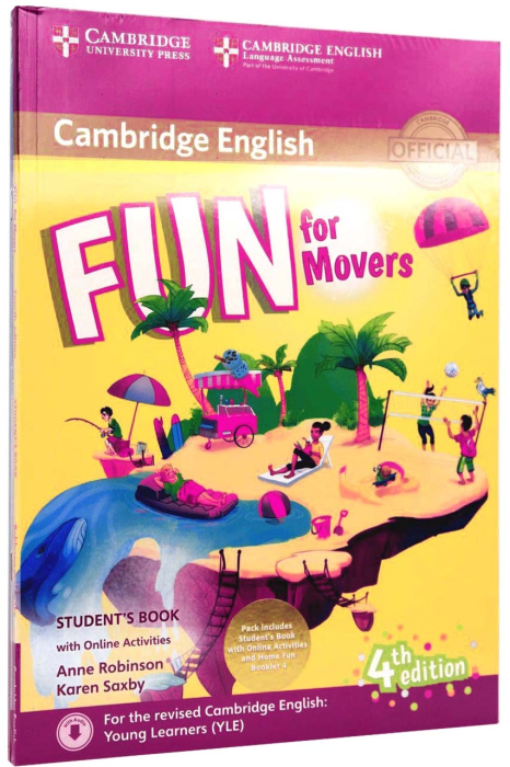Fun for Movers Student's Book with Online Activities with Audio and Home Fun Booklet 4 [0]