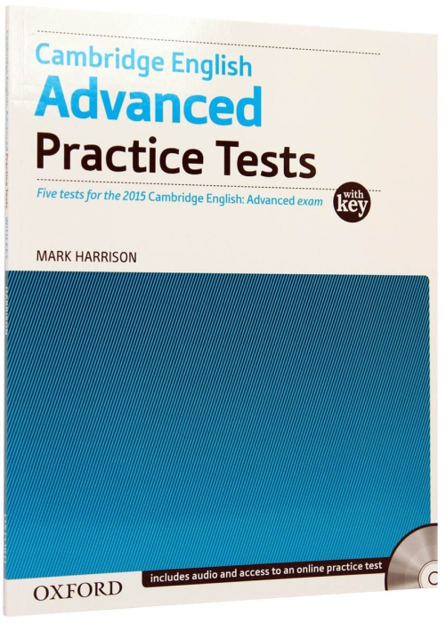 CAE Advanced Practice Tests (new 2015) with Key. Five tests [0]