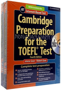 Cambridge Preparation for the TOEFL iBT Test (4th Edition) Book with CD-ROM and Audio CDs (8) Pack [0]