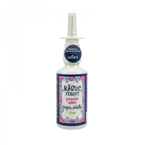 Nasuc Fericit – spray nas – COPII -tratament natural pentru raceala-20ml 0
