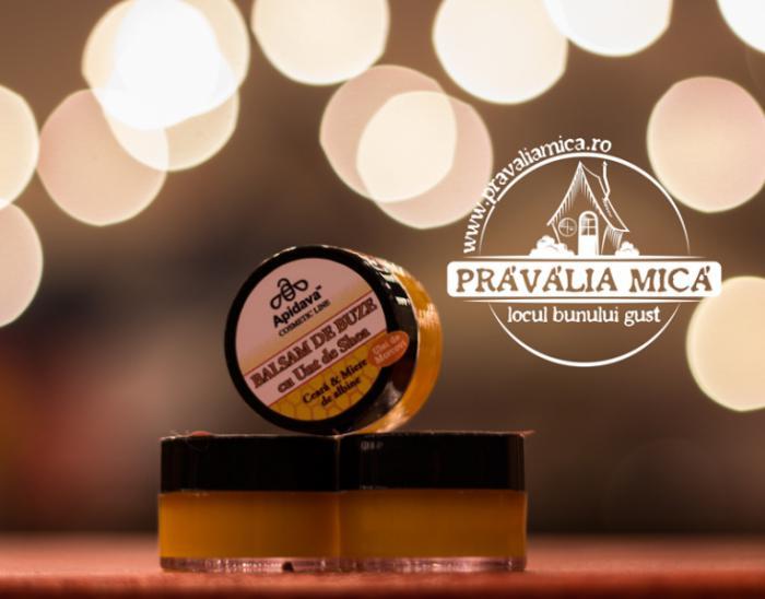 Balsam de buze cu miere si ceara de albine 10ml - Apidava 0