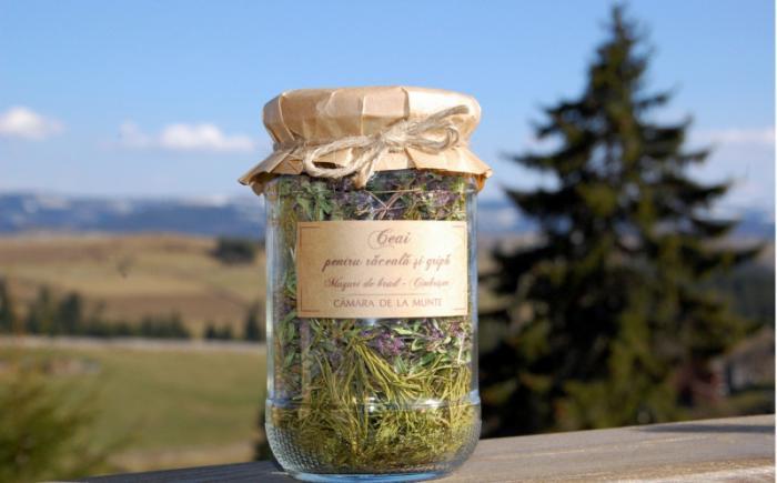 Ceai pentru raceala si gripa 20g - Camara de la munte 0