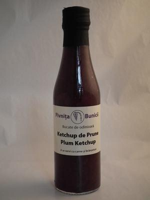 Ketchup de Prune (fara zahar) 200ml - Pivnita Bunicii 0