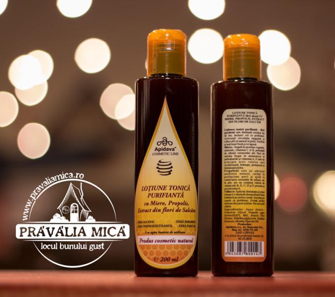 Lotiune tonica purifianta 200ml - Apidava 0