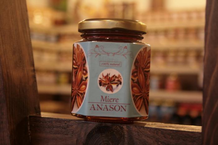 Miere anason 250g - Prisaca Transilvania 0