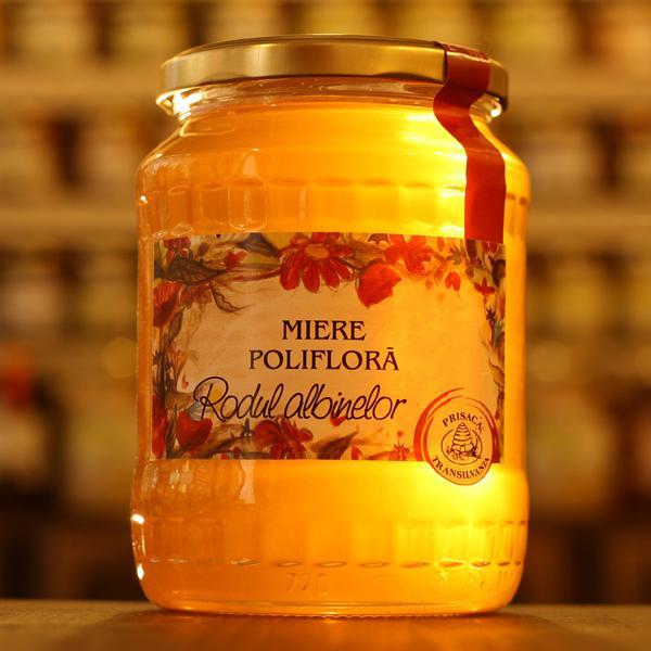 Miere poliflora 950g - Prisaca Transilvania 0
