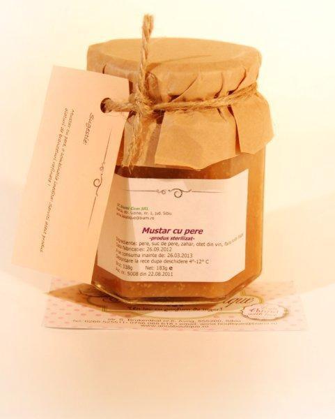 Mustar cu pere 183g - Anna Boutique 0