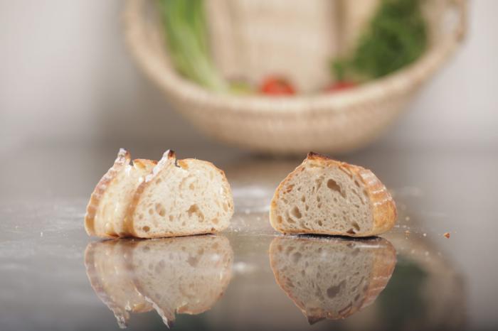Pâine albă cu usturoi 600g - MamaPan 0