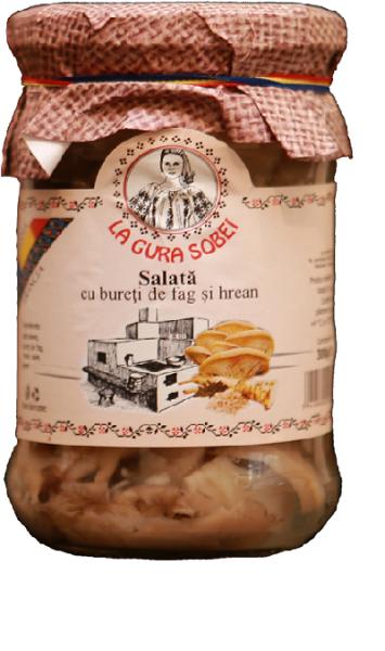 Salata cu bureti de fag 300g - La gura sobei 0