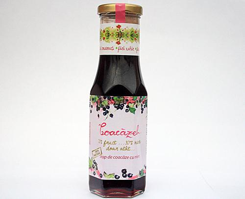 Sirop de coacaze negre in miere Coacazel 230ml - Prisaca Transilvania 0