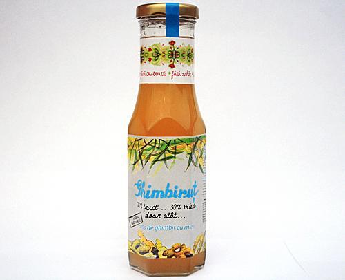 Sirop de ghimbir in miere Ghimbirut 230ml - Prisaca Transilvania 0
