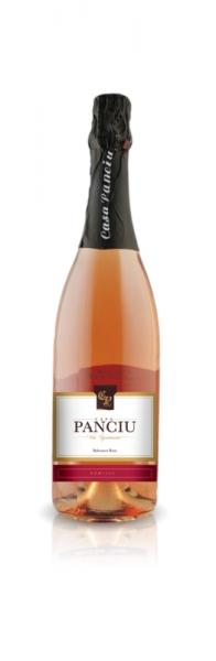 Spumant Rose demisec 750ml - Casa Panciu 0