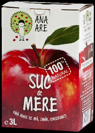 Suc de mere 100% natural 3L - Ana are 0