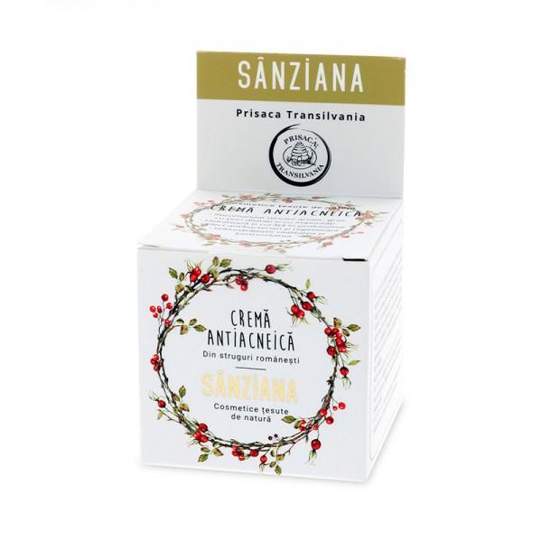 Crema antiacneica SANZIANA 30 ml - Prisaca Transilvania [0]