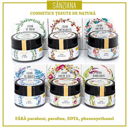 Crema antirid SANZIANA 30ml - Prisaca Transilvania 3