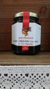 Dulceata de rabarbar cu vanilie 200g - Gourem Traditional0