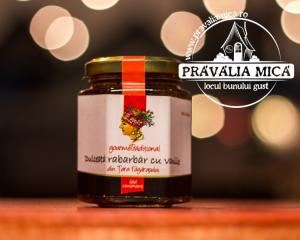 Dulceata de rabarbar cu vanilie 200g - Gourem Traditional1