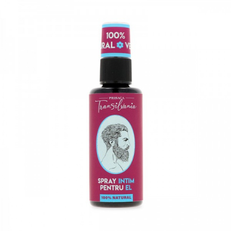 Spray intim pentru el 100% natural 50ml - Prisaca Transilvania [0]