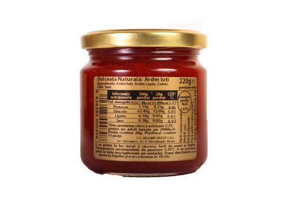Dulceata naturala de ardei iute 220g 1