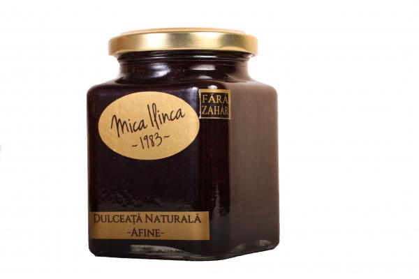 Dulceata naturala de afine 100% -fara zahar- 330g 0