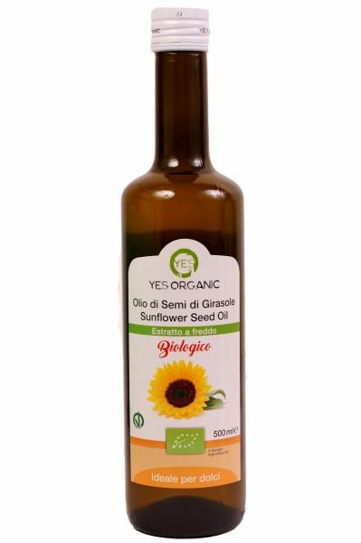 Ulei de floarea soarelui Eco 500ml - presat la rece 0