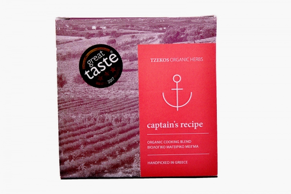 Mix condimente Captain's Recipe 30g ECO 0