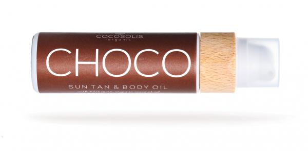 CHOCO Suntan & Body Oil -  110ML 1