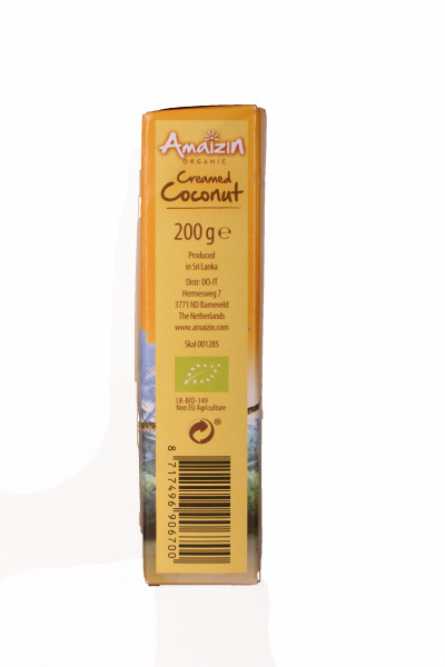 Crema de cocos ECO 200ml - Amaizin [1]
