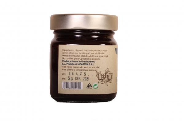 Gem de fructe de padure fara zahar 240g 1