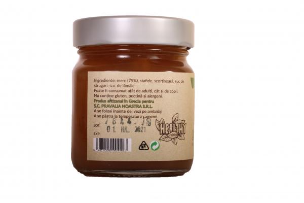 Gem de mere cu stafide fara zahar 240g 1