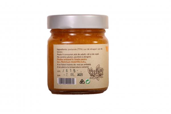 Gem de portocale fara zahar 240g 1