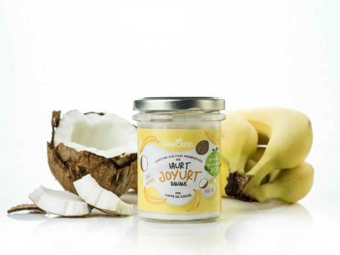 Joyurt - Iaurt din lapte de cocos cu banane ECO - Rawckers [1]