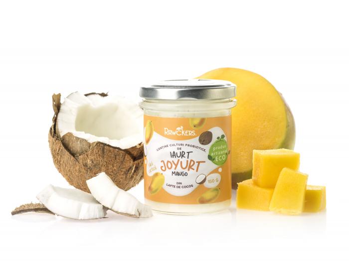 Joyurt - Iaurt din lapte de cocos cu mango ECO - Rawckers [1]