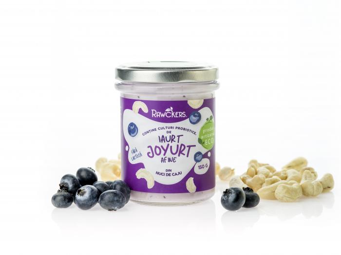Joyurt - Iaurt din nuci caju cu afine ECO - Rawckers [1]