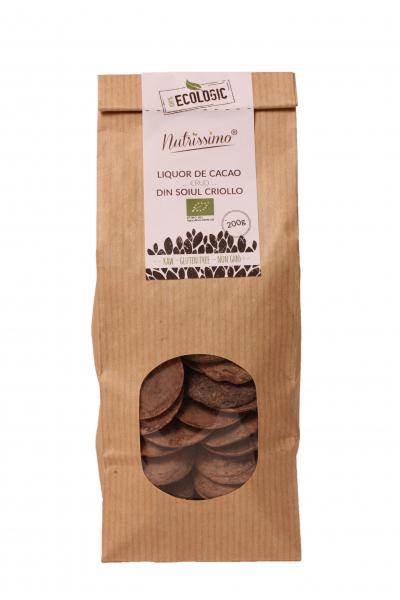Masa de cacao cruda criollo ECO 1kg 0