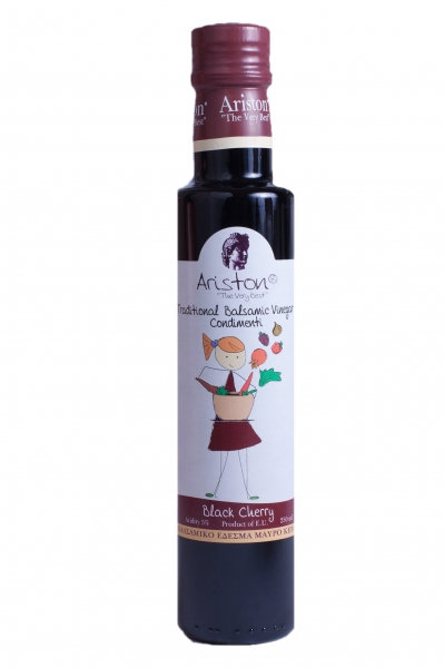 Otet balsamic cu cirese negre 250 ml -Fara zahar- 0