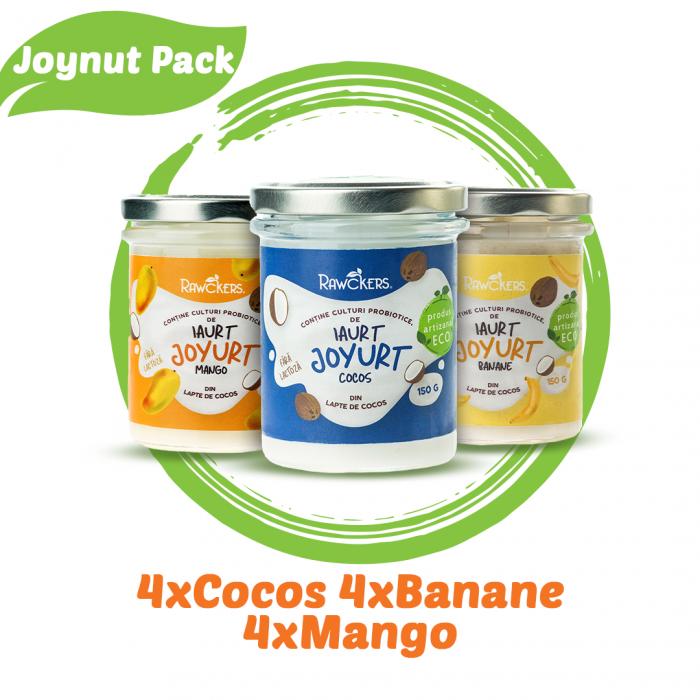 Joynut Pack - 12 bucati iaurturi din lapte de cocos [0]