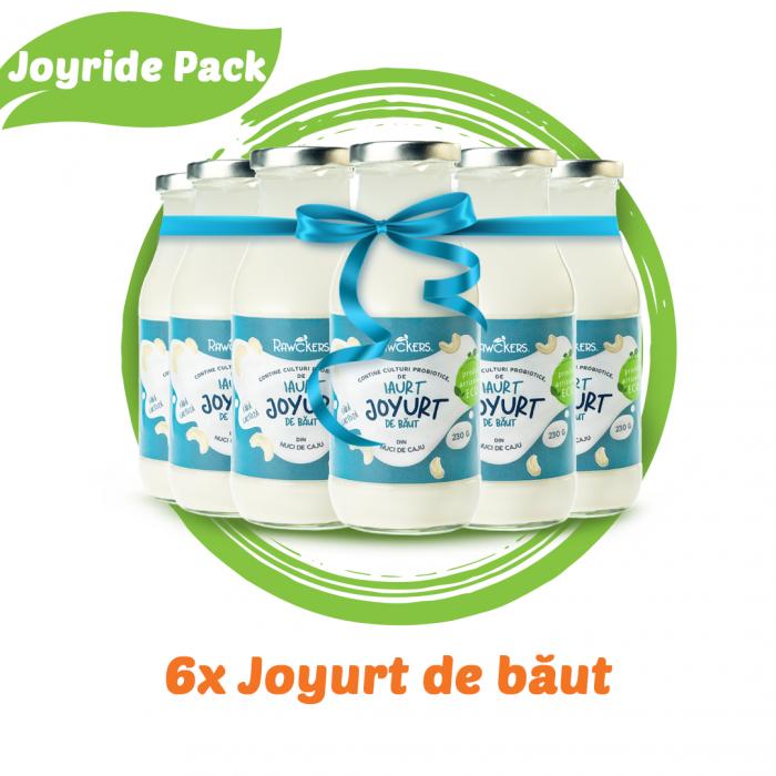 Joyride Pack - 6 bucati Iaurt de caut din nuci caju [0]