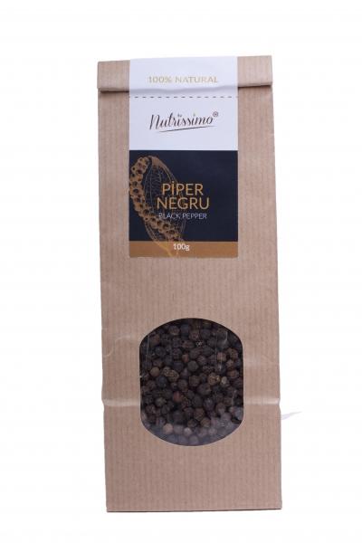 Piper negru boabe - 100 g 0